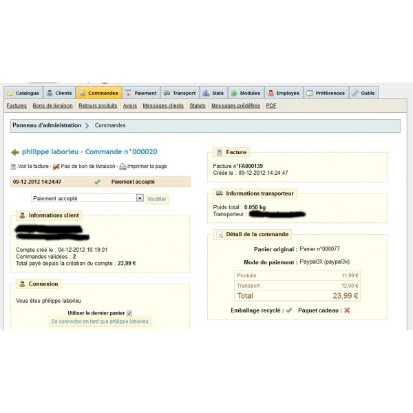 Module prestashop 1 6 paiement 3 fois paypal - Paypal paiement en plusieurs fois ...